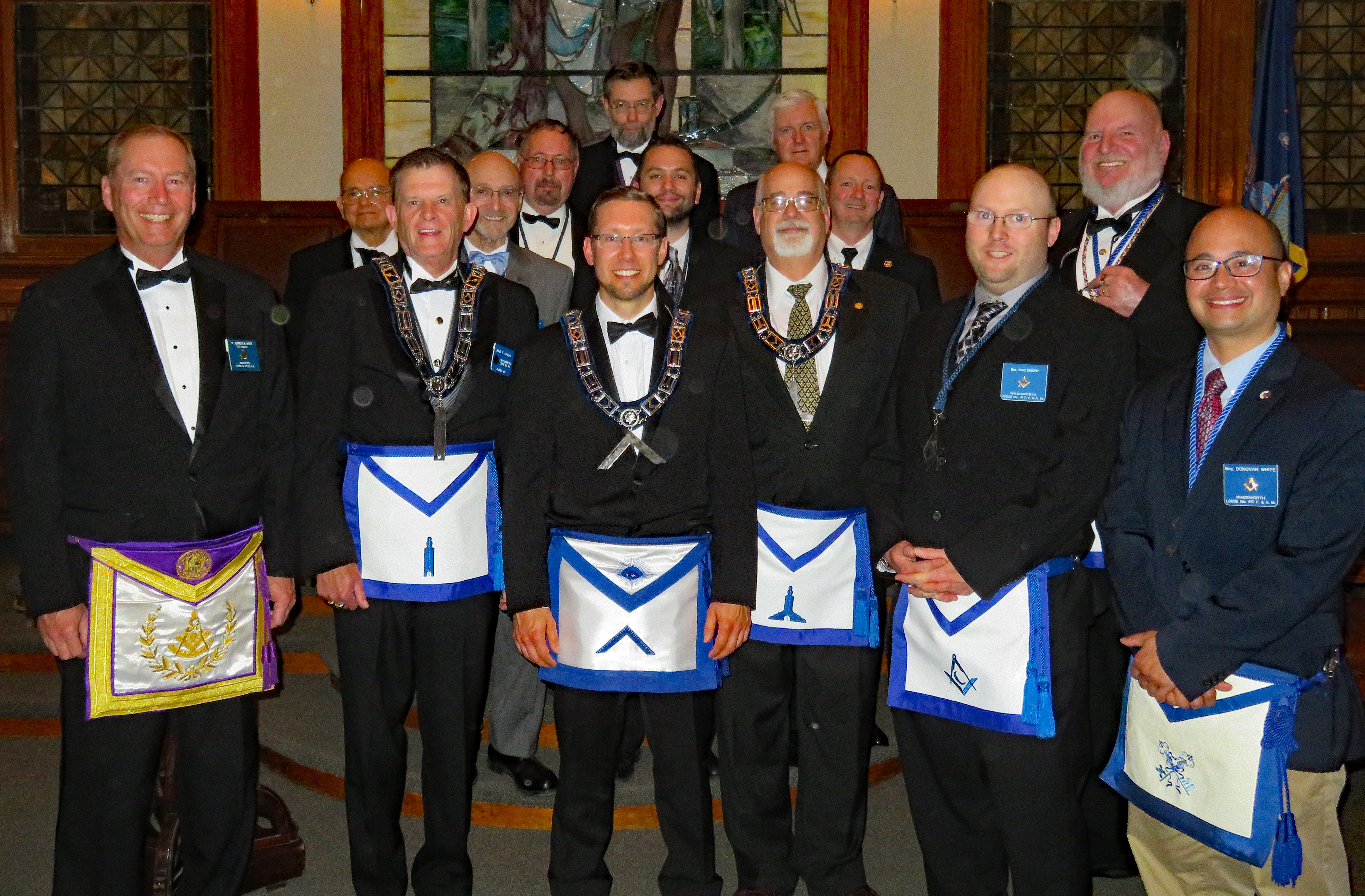 Officers of Wadsworth Lodge